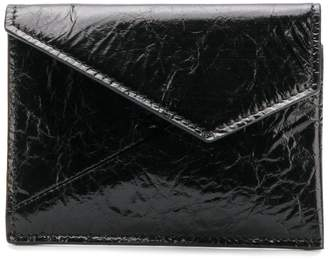 MM6 MAISON MARGIELA asymmetric flap purse