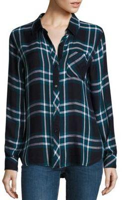 Rails Hunter Plaid Shirt $148 thestylecure.com