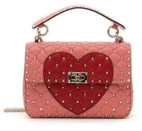 Valentino Rockstud Heart Shoulder Bag