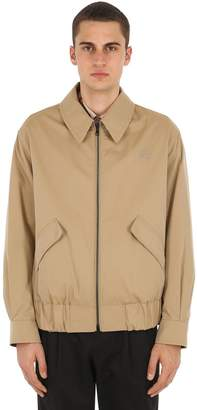 Burberry Reversible Cotton Bomber Jacket