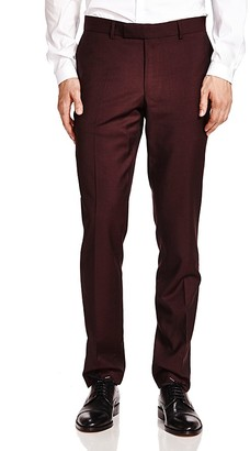 The Kooples Purple Rain Slim Fit Trousers $285 thestylecure.com