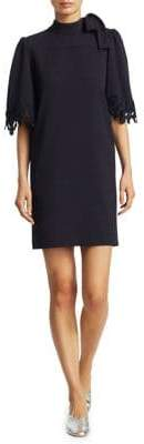 See by Chloe Crepe Bow Neck Dress