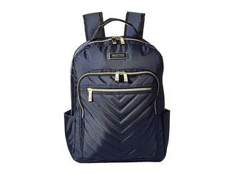 Kenneth Cole Reaction Polyester Twill Chevron Backpack b5c2c37c3b5ef