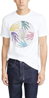 Paul Smith Short Sleeve Skeleton Hands T-Shirt