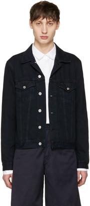 Acne Studios Black Denim Who Jacket $360 thestylecure.com