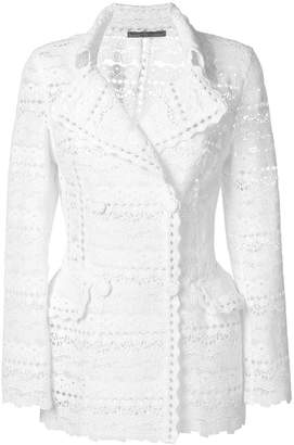 Ermanno Scervino embroidered jacket