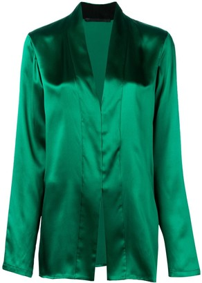Haider Ackermann metallic blouse