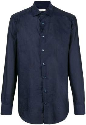 Etro slim fit patterned shirt