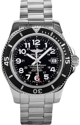 Breitling A17365c9/bd67 161a superocean ii stainless steel watch