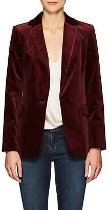 Frame Women's Classic Velvet One-Button Blazer
