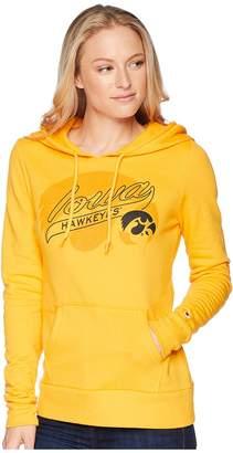 Champion College Iowa Hawkeyes Eco University Fleece Hoodie Women's Sweatshirt