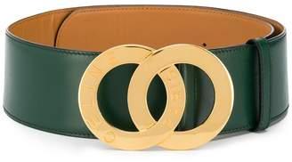 Celine Pre-Owned logo plaque belt