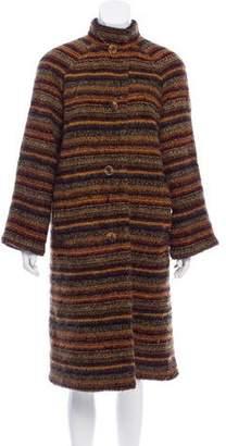 Missoni Bouclé Mohair-Blend Coat