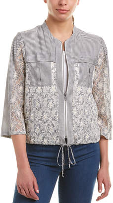 BCBGeneration Lace Front Jacket