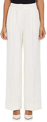 The Row Women's Lian Wool-Blend Wide-Leg Trousers