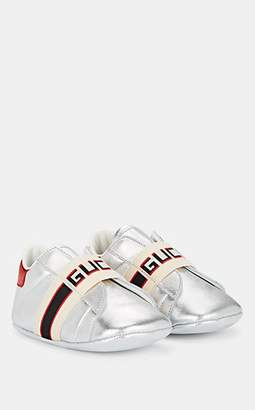 2f2251032ea Gucci Infants  New Ace Leather Sneakers - Silver