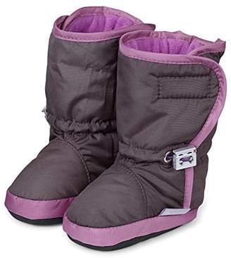 Sterntaler Baby Girls Standing Baby Shoes Purple Size: