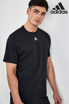 adidas Mens Must Have 3 Stripe Tee - Black