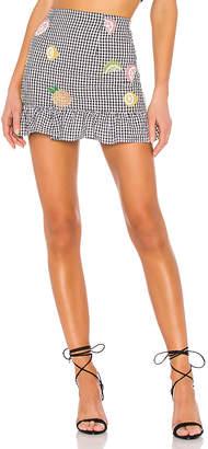 Lovers + Friends Zoe Mini Skirt