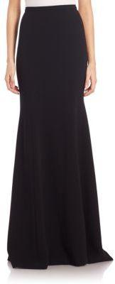 Theia Long Mermaid Skirt $595 thestylecure.com