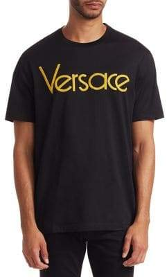 Versace Short-Sleeve Cotton Tee