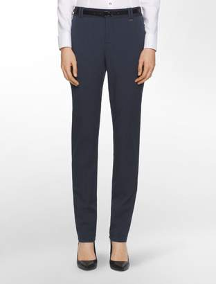 Calvin Klein essential skinny chambray belted pants