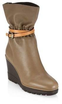 See by Chloe Robin Leather Wedge Boot