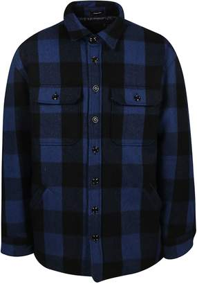 R 13 Checked Jacket