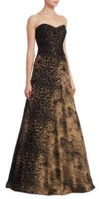 Metallic Design Gown