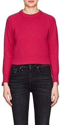 Helmut Lang WOMEN'S CASHMERE CROP SWEATER