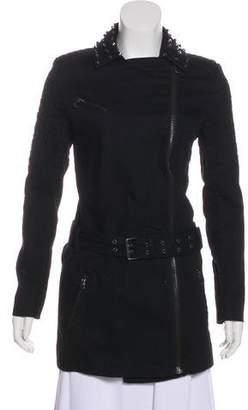 Pierre Balmain Studded Short Coat w/ Tags