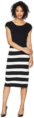 Anne Klein Bow Back Sweater Dress Women's Dress