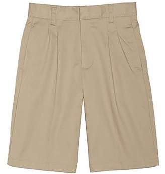 Beverly Hills Polo Club Boy's Uniform Pleated Flat Front Short