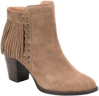 Sofft Leather Fringe Ankle Boots - Winters