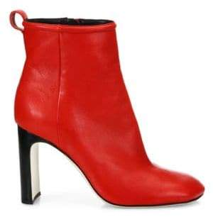 Rag & Bone Ellis Lamb Leather Ankle Boots