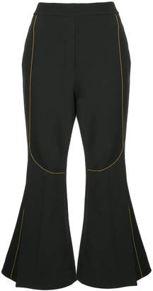 Velocity cropped trousers