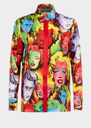 Versace Pop Art SS'91 Print Tribute Shirt