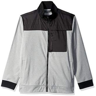 Kenneth Cole New York Men's Techy Fleece Long Sleeves