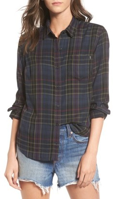 Women's Obey Elina Plaid Shirt $64 thestylecure.com