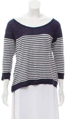 Joie Linen Striped Top