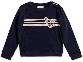Roxy Toddler Girls Striped Sweatshirt