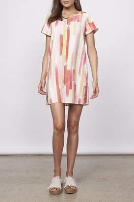 MinkPink Watercolor Tea Dress