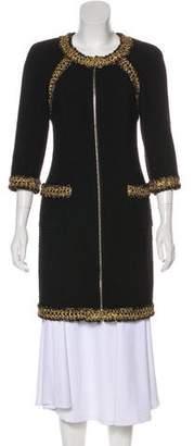 Chanel Wool Knee-Length Coat