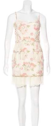 Thakoon Floral Print Mini Dress w/ Tags