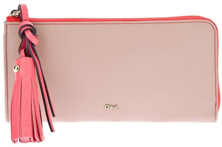 Chloé tassel detail wallet