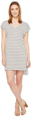 Alternative Eco Jersey Yarn Dye Stripe Escapade Dress Women's Dress