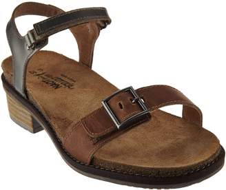 Naot Footwear Leather Sandals with Buckle Detail - Boho