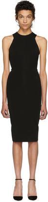 Victoria Beckham Black Cut-Out Back Dress