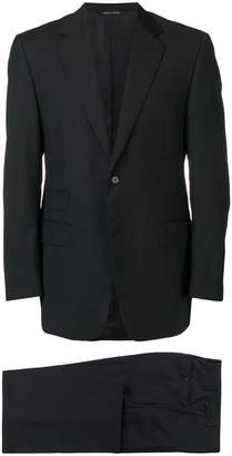 Canali black formal suit