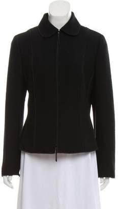 Akris Punto Long Sleeve Knit Jacket